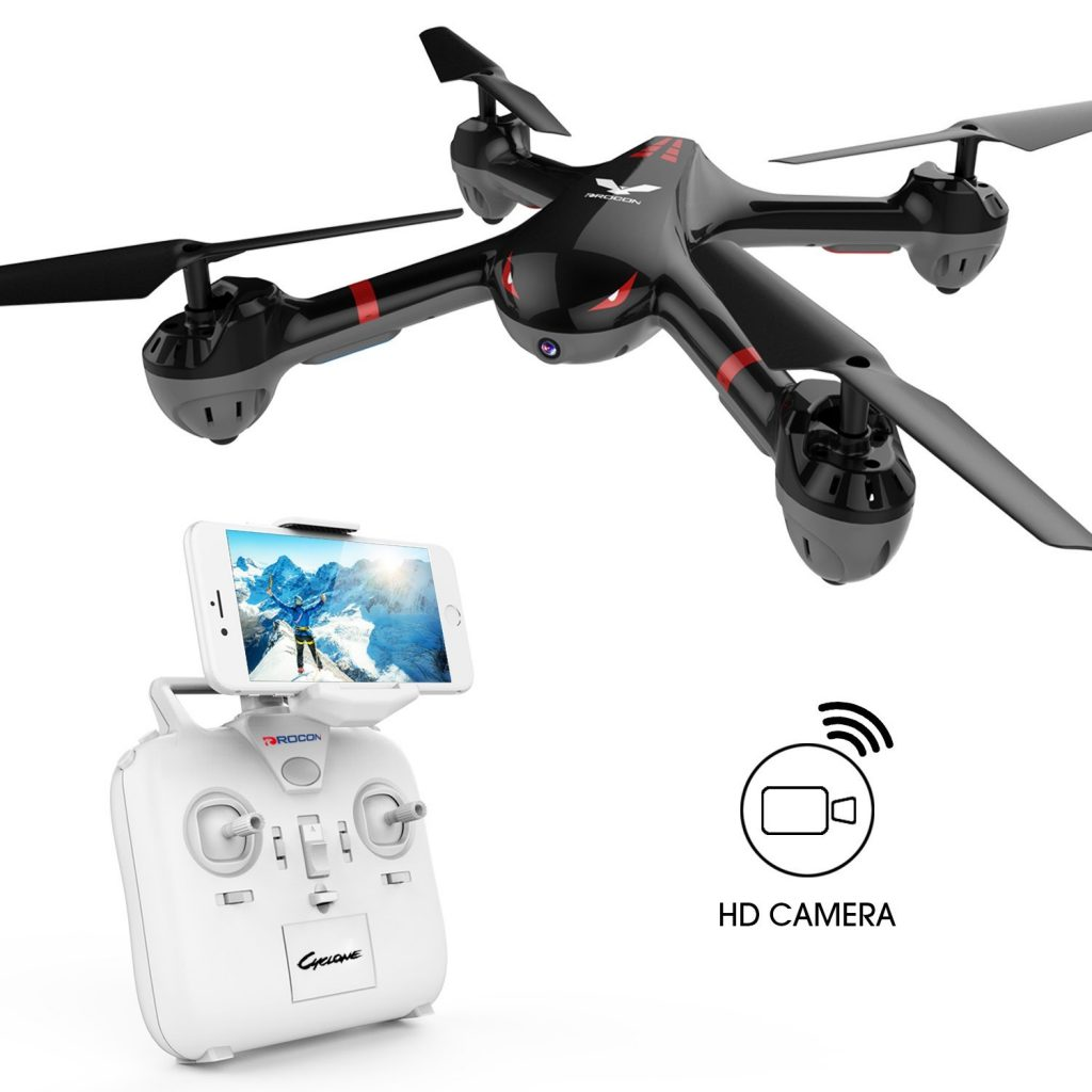 DROCON drone with camera